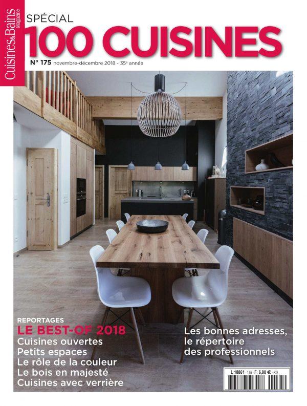 Cuisines&Bains – N° Special 100 Cuisines – Conception graphique
